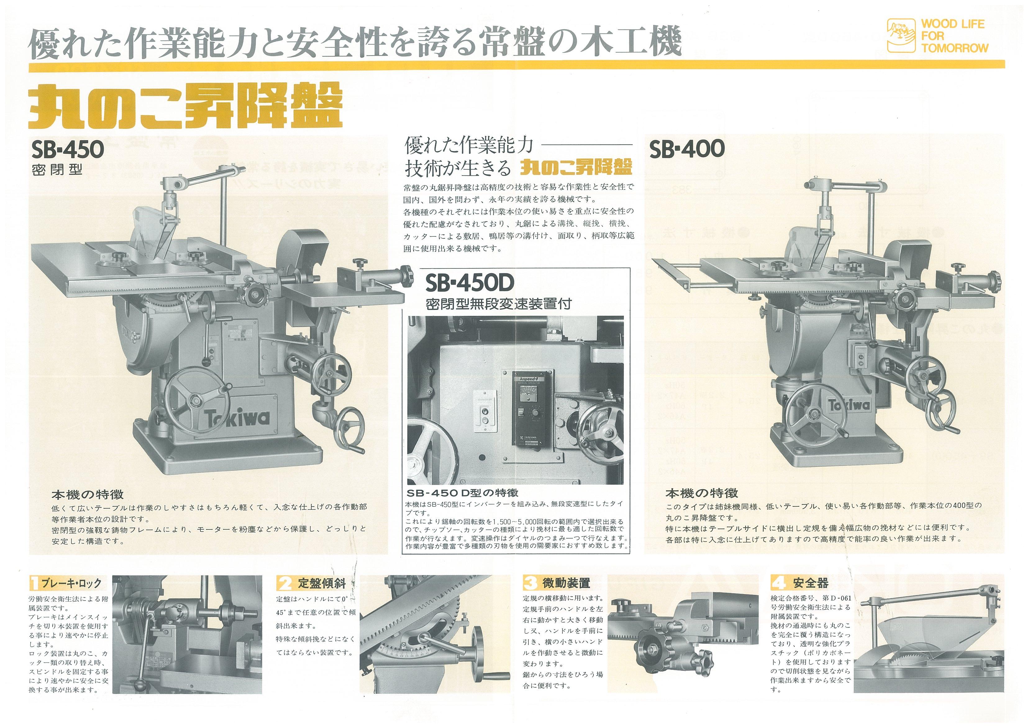 中古木工機械 昇降盤