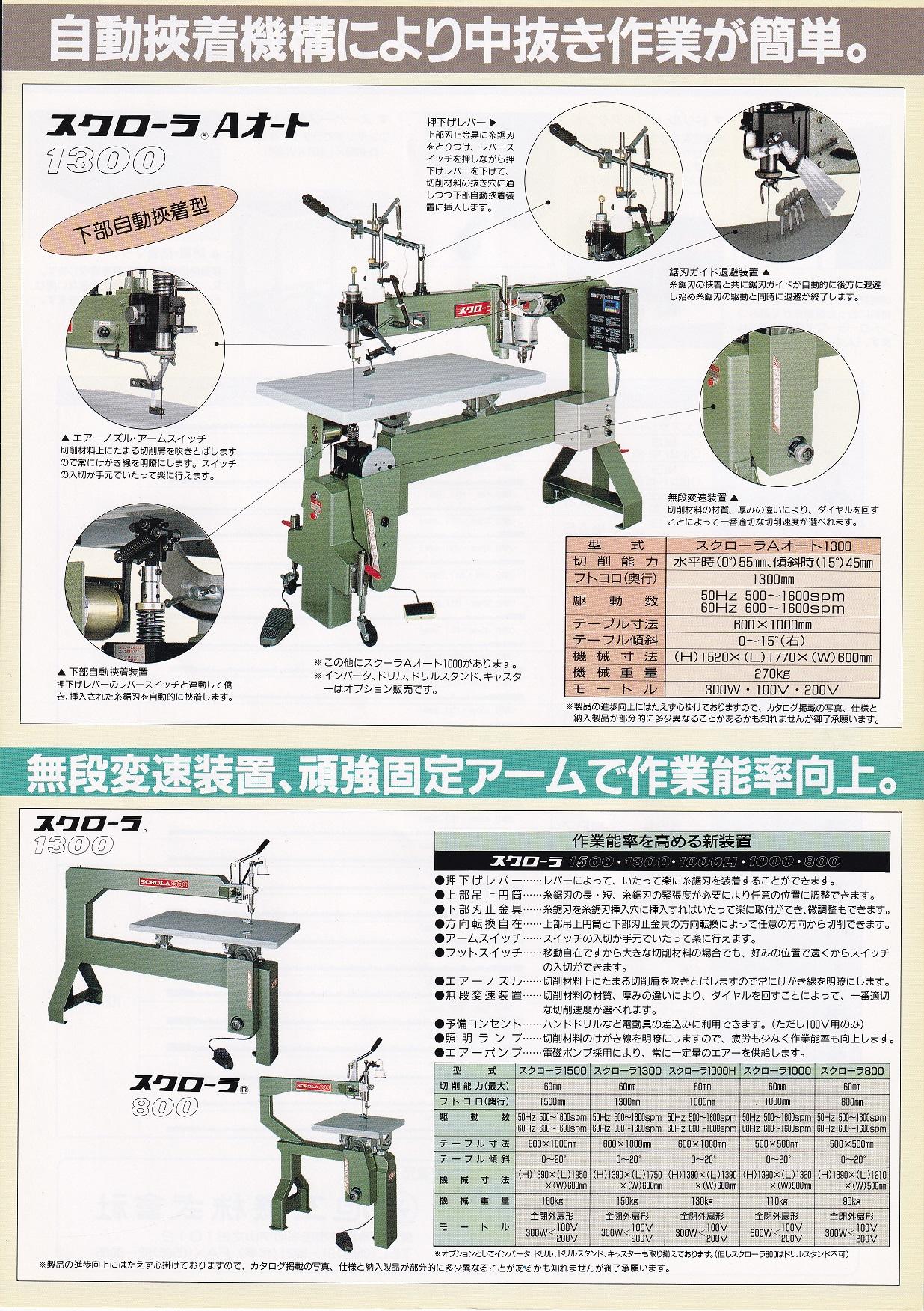 中古木工機械 糸のこ盤